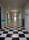 Krankenhausweg Stockfotos