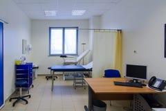Krankenhauszimmer Stockfoto