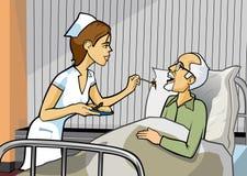 krankenpflege Stockbilder