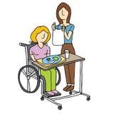 Krankenpflege-häusliche Pflege Lizenzfreie Stockfotografie