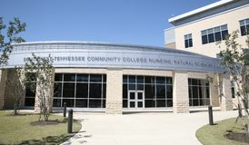 Krankenpflege-Schule am Südwesten Tennessee Community College Stockfotografie