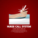 Krankenschwester Call System Button Stockfotografie