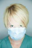 Krankenschwester, die Sie betrachtet Stockbilder