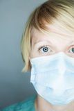 Krankenschwester, die Sie betrachtet Lizenzfreies Stockbild