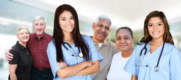 Krankenschwester im Krankenhaus lizenzfreies stockfoto