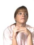 Krankenschwester oder Doktor Lizenzfreie Stockbilder