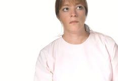 Krankenschwester oder Doktor oder Patient Lizenzfreies Stockbild