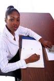 Krankenschwester oder Kursteilnehmer Stockfoto