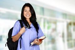 Krankenschwester At School Stockfotos