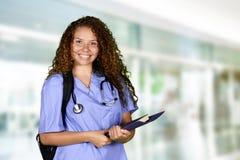 Krankenschwester At School Stockbilder