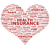 Krankenversicherung. vektor abbildung