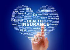 Krankenversicherung. Lizenzfreie Stockfotos