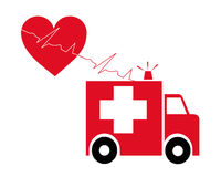 Krankenwagen Lizenzfreie Abbildung