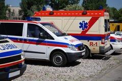 Krankenwagen stockbilder