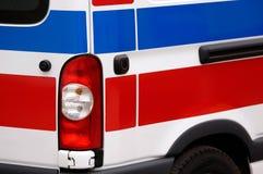 Krankenwagen-Fahrzeug Stockfoto
