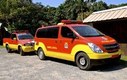 Krankenwagen in Honduras Stockbilder