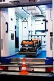Krankenwagen-Innenraum Stockbilder