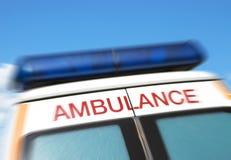 Krankenwagen-Zeichen Lizenzfreie Stockfotos