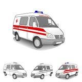 Krankenwagenauto Lizenzfreies Stockbild