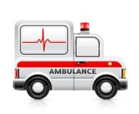 Krankenwagenauto Stockbild