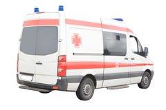 Krankenwagenauto Stockfotografie
