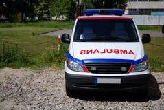 Krankenwagenfahrzeug stockfotografie