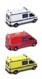 Krankenwagengruppe Stockfoto