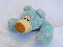 Kranker Teddybär Stockfotos