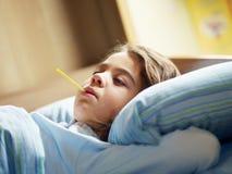 Krankes Mädchen Stockbilder