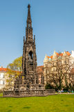 Kranners Fountain in Prague royalty free stock photography
