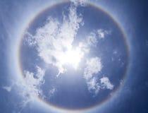 Krans cirkel av solen Royaltyfria Foton