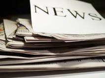 Krant 1 stock fotografie