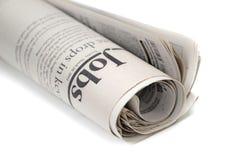Krant Royalty-vrije Stock Afbeelding