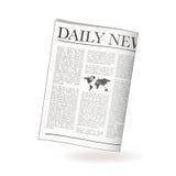 Krant dagelijks vector illustratie