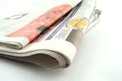 Kranten Royalty-vrije Stock Fotografie