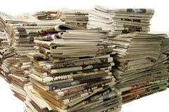 Kranten Royalty-vrije Stock Afbeelding