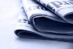 Kranten Stock Afbeelding