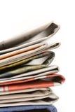 Kranten Stock Fotografie