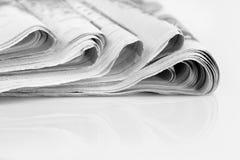 kranten royalty-vrije stock afbeeldingen