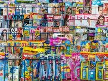 Kranten en tijdschriften royalty-vrije stock foto