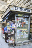 Kranten in Italië royalty-vrije stock foto's