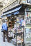 Kranten in Italië stock afbeeldingen