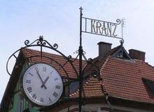 Kranz-старый городок стоковая фотография