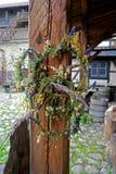 Kranz von Wildflowers Lizenzfreie Stockfotos