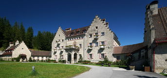 Kranzbach城堡 免版税图库摄影