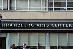 Kranzberg-Kunst-Mitte, St. Louis, Missouri stockfotografie