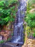 Krape公园瀑布伊利诺伊 免版税图库摄影