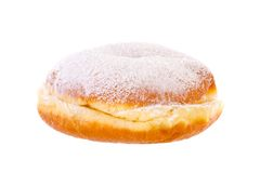 Krapfen Berliner Pfannkuchen Bismarck Donut brightened Stock Photos