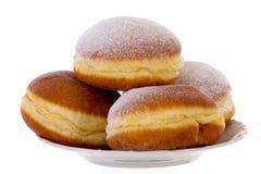 Krapfen BerlinerPfannkuchen Bismarck Donuts Royaltyfria Bilder