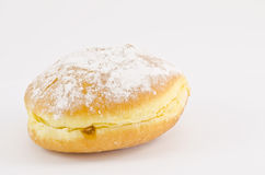 Krapfen or donuts with jam Royalty Free Stock Photo